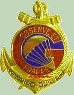 L'insigne du Commando est l'oeuvre du Commando parachutiste Alain CHAYER.  Ancien21bis